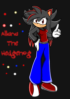 Allana in Sonic x .:Contest:. by legendary-rose