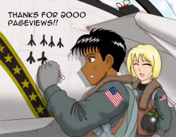 Thanks for 2000 pageviews by Skunk-Works