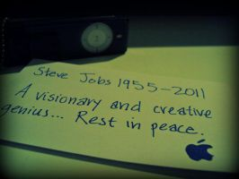 Day 70 of 365 RIP Steve Jobs by yosugara-kei