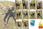 Kicking and Slugging Fight - Set 54 pics - US 3.50 by MartaModel