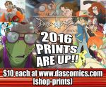 2016 Prints are available now by DaveAlvarez