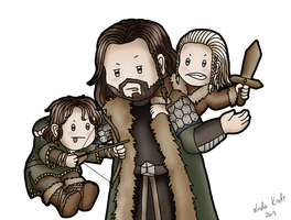 Uncle Thorin by Isriana