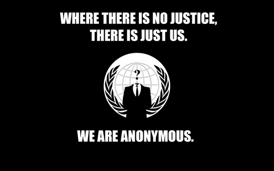 Anonymous - There's Just Us by anonymousmouse2099