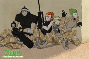 LoZ: Modern Warfare by Aeridis