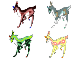 FREE Derg Adoptables by Diabolic-Acid