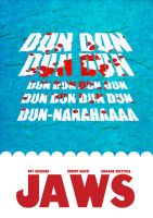 Jaws Poster by Sith4Brains