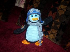 Aviator Penguin by Sher-A
