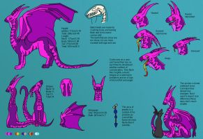 Baelch refsheet by camelpardia
