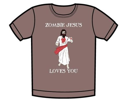 Zombie Jesus t-shirt by whatthis