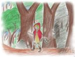 Little Red distracted hood by BHM321