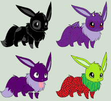 Eevee Adoptables 3 [Closed] by ReinFalling
