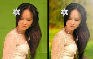 Fashion Retouching (Before and After) 02 by shaixey