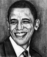 _-- Barack Obama --_ by emizael