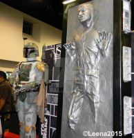 Boba Fett and Han Solo in Carbonite by Leena-A