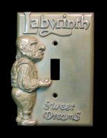 Hoggle light switch cover by eyefeather