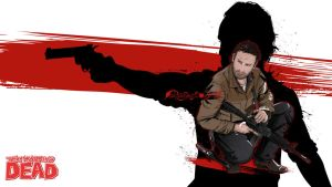 THE WALKING DEAD: RICK GRIMES by akyanyme