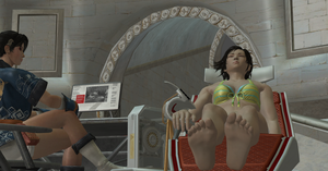Total Mashup! Unconscious Asuka on Animus! (4) by the3dsolehunter