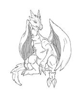 Early work: dragon by hkepoetry