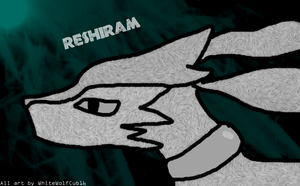 Reshiram by WhiteWolfCub16