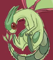 Flygon by skeletall