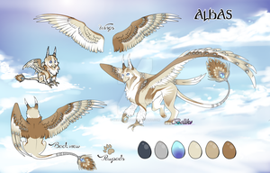 Gryphon Adoptable / Albas/ Auction (CLOSED) by Belliko-art