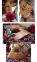 Steampunk mask Mother of Nature by Rouages-et-Creations