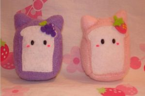Fruit cat breads by Kittyportugal