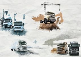 Volvo Trucks - Picture Series by visio-art