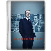 Tinker Tailor Soldier Spy (2011) Movie DVD Icon by A-Jaded-Smithy