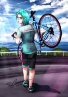 Hatsune Cycling Tech 1 by Anomonny