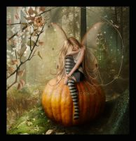 Pumpkin Fae by Adaae