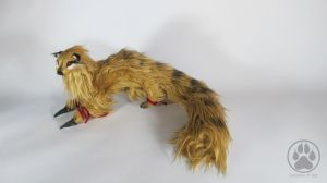 Kamaitachi the sickle weasel artdoll OOAK. by CreaturesofNat