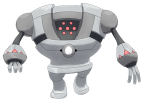 Mega Registeel by Smiley-Fakemon