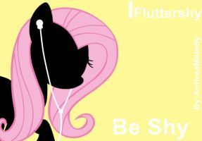 Ipod My Little Pony Version (Fluttershy) by AndreaSemiramis