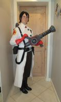 RED Medic cosplay 1 by GingerwithHat