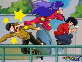 Ryoga Gets Kicked (Remake) by MegaPhilX