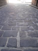 Stone Alley Road Stock by PyronixcoreStock