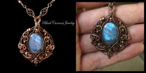 Blue Dream by blackcurrantjewelry