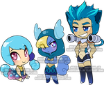 Chibi Pokegijinka Adoptable3 by Sakuyamon