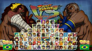 STREET FIGHTER DESTINY: Sean VS Sean by FooRay