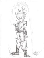 Super Saiyan 2 by Irken-Invader-Sam