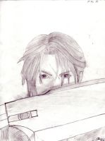 Squall Lionheart Draw by dkcipactli