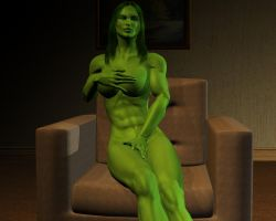 She hulk - Exclusive 39 by MorganCygnus