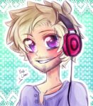 [Doodle] It's Pewds! by Nadi-Chan