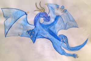 Blue Dragon by Chequer