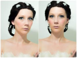 +WIP - Katniss Makeup Test 1+ by snowwhiteqeen