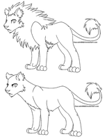 Simple Lion Bases by rascal4488