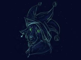 Constellation Jester Sketch by Thissa