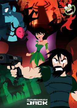 Samurai Jack - Season 5 Key Visual by MikeStarson