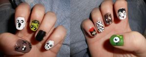 Monster Nails by Boo-tastic